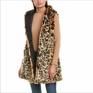 Via Spiga  leopard Reversible Vest size Small